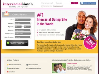 Interracial Match Homepage Image